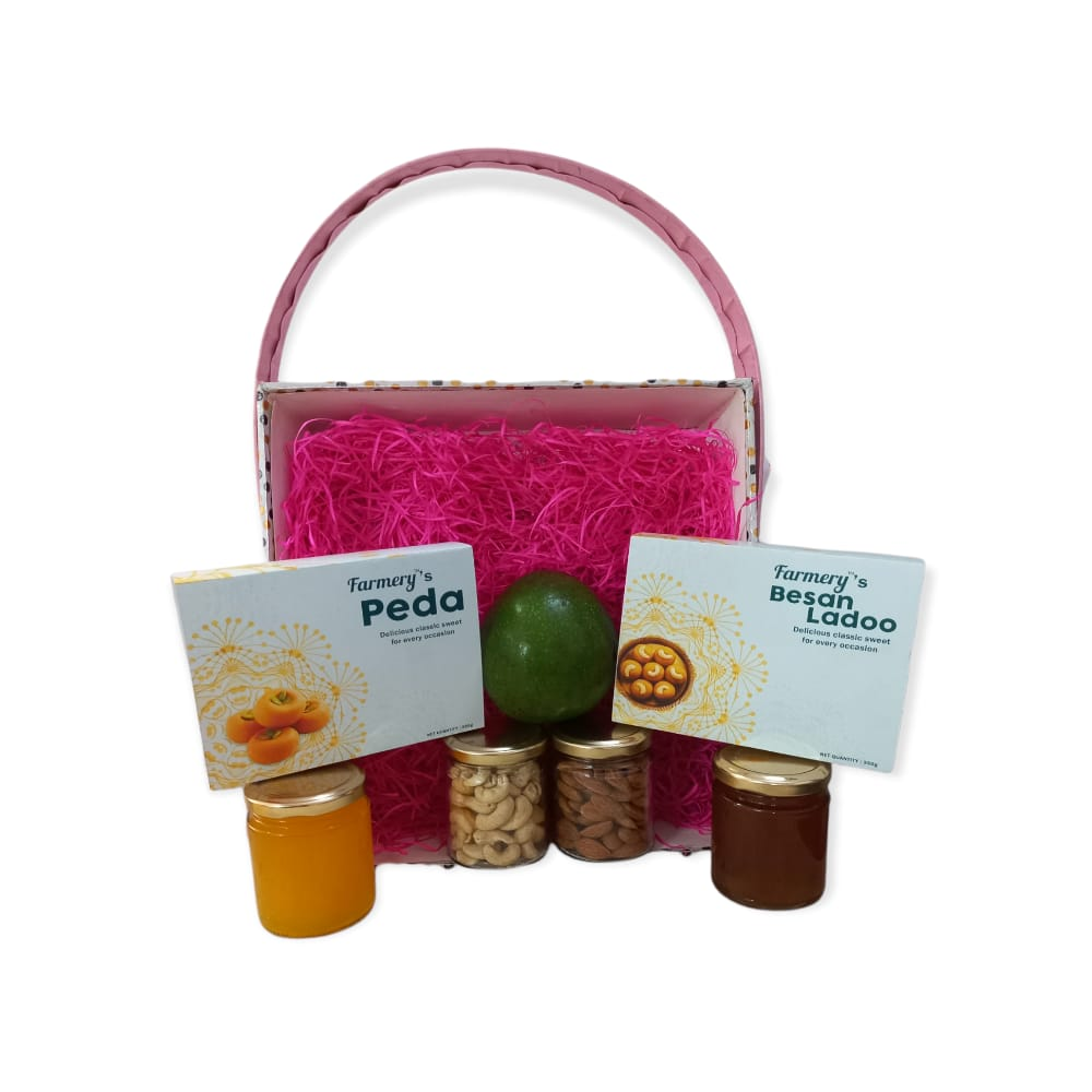 Diwali (Fruits & Dry Fruits Basket)