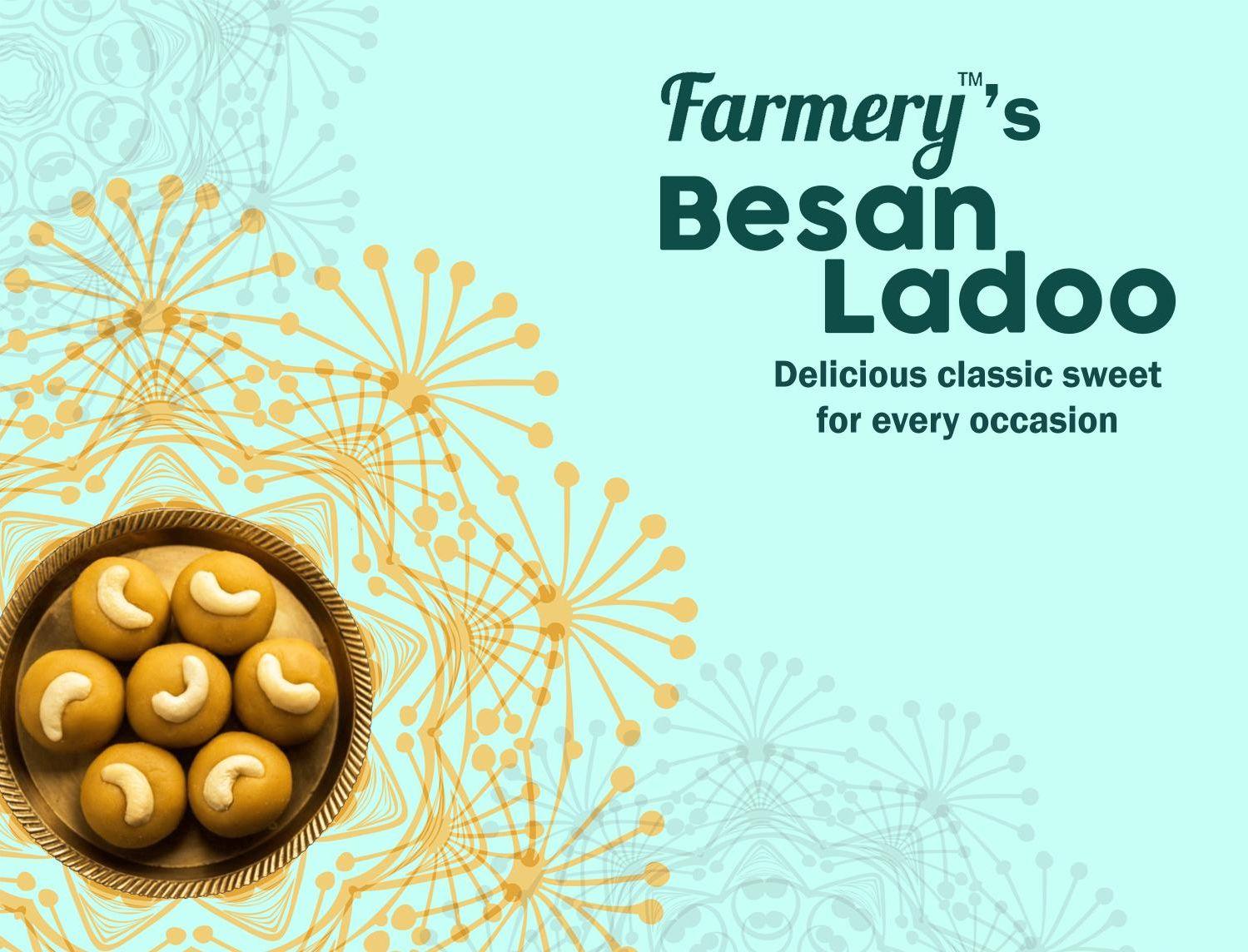 Farmery Besan Ladoo